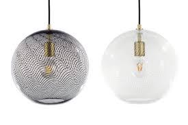 Glass Light Pendant Blown Glass Lighting