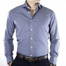 polo ralph lauren men u0027s slim fit plaid dress shirts ebay