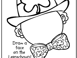 clever design ideas st patrick day coloring pages 5 stunning