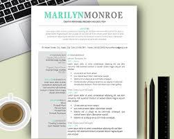 Creative Design Resume Templates 100 Modern Resume Templates Free Looking Template Microsoft Word