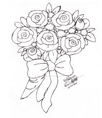 how to draw flower bouquets advanced coloring pages for artists
