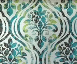 Blue Damask Upholstery Fabric Aqua Green Damask Fabric By Yard Beige Curtain Fabric Upholstery