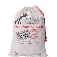 santa sacks wholesale 100pcs lot christmas gift bag large canvas santa sack