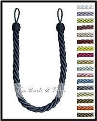 Rope Curtain Tie Back Rope Curtain Tie Backs Home Design Ideas And Pictures