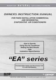 ea owner u0027s manual breezair by seeley international by seeley
