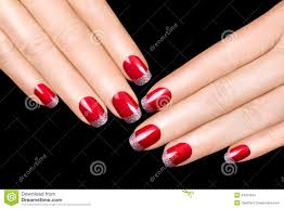 nail art luxury nail polish nail stickers stock photo image