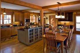 Kitchen Open To Dining Room Open Kitchen Dining Room Concept Layout Living Ideas Subscribed