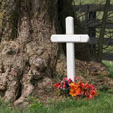roadside crosses memorials funeral and cremation archive