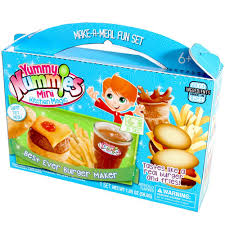 amazon com yummy nummies make a meal fun set best ever burger