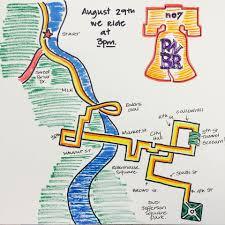Map A Bike Route by Bike Ride Announces Saturday U0027s Route Through Philadelphia