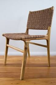 Metal And Leather Dining Chairs Sleek And Simple The Leather And Metal Side Chair Adds Chic
