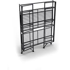 convenience concepts designs2go metal folding 3 shelf wide