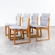 mid century dining room chairs from vamdrup stolefabrik set of 4