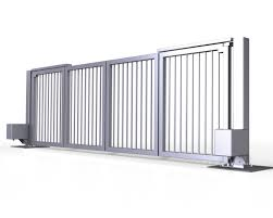 advantage trackless bi fold gate leda security products