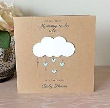 baby shower card baby shower personalised made cards ebay