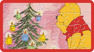 Winnie The Pooh Christmas Tree Decorations Disney Jigsaw Puzzle Winnie The Pooh Winnie Decorating The