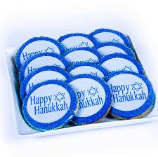 hanukkah cookies hanukkah gift baskets two dozen gourmet hanukkah cookies