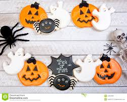 halloween cookie background stock photo image 44843961