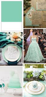 mint green pantone pantone 2015 lucite green mint weddings the destination