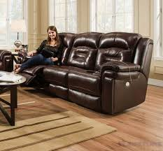 southern motion power reclining sofa southern motion avatar double reclining sofa with power headrest