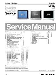 philips chassis l04l ab manual de servicio menu computing