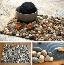 Creative Craft Ideas Making Home Decorations With Beach Pebbles - Handmade home decoration