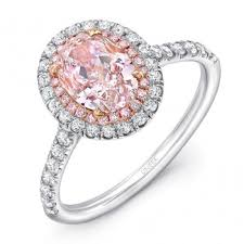 pink wedding rings pink diamond engagement rings engagement rings