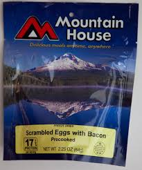 Mountain House Food Outdoor World Sporting Goods Scrambled Eggs With Bacon