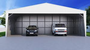 Garage With Carport Steel Building Styles Metal Carports Barns Garages Rv Covers
