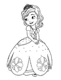 coloriage princesse à colorier dessin à imprimer coloriages