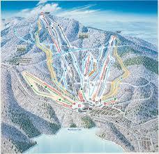 Montana Ski Resorts Map by Trail Maps