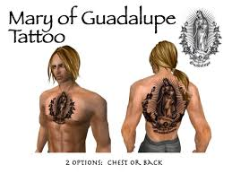 second life marketplace mary of guadalupe tattoos