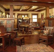 Craftsman Style Homes Interior 48 Best Mission Style Living Rooms Images On Pinterest Craftsman