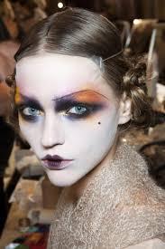 halloween makeup inspiration runway beauty for halloween the fashion medley