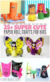 25 super cute paper roll crafts for kids
