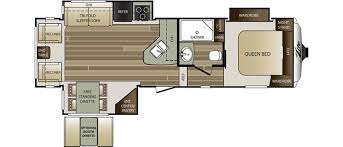 Carriage Rv Floor Plans by New Or Used Fifth Wheel Campers For Sale Rvs Near Asheville
