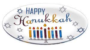 hanukkah plate hanukkah gifts oval glass happy hanukkah serving plate