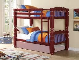 Cherry Bunk Bed Acme Benji Cherry Wood Bunk Bed Living Store
