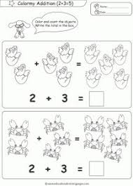 special education math kindergarten autism dinosaurs cut and paste