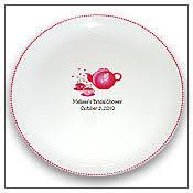 bridal shower autograph plate personalized guest signature platters autograph platters signing