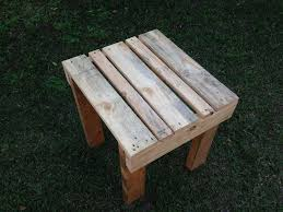 how to make a small table building a pallet table modern home