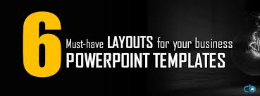 must have layout slides for your business powerpoint templates