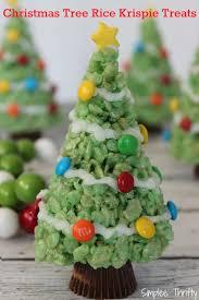 christmas trees christmas trees rice krispie treats simplee thrifty