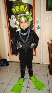 Halloween Costumes 5 Boy Scuba Diver Costume Diy Black Armour Shirt Pants Ski