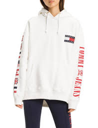 tommy jeans 90s logo hoodie sweat david jones