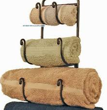 Bathroom Towel Hanging Ideas by Bathroom Charming Scroll Bath Towel Holder Design Ideas Bathroom