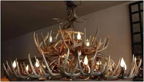 Antler Chandelier Kit Moose Chandelier Deer Antler Chandelier Kit Englishedinburgh