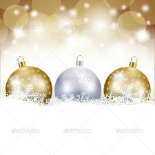 background with baubles by luisaventuroli graphicriver