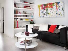cream painting wall college apartment decorating ideas yellow