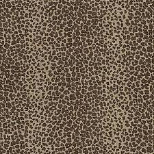 leopard fabric schumacher leopard linen print java fabric